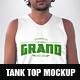 Hipster Tank Top Mockup
