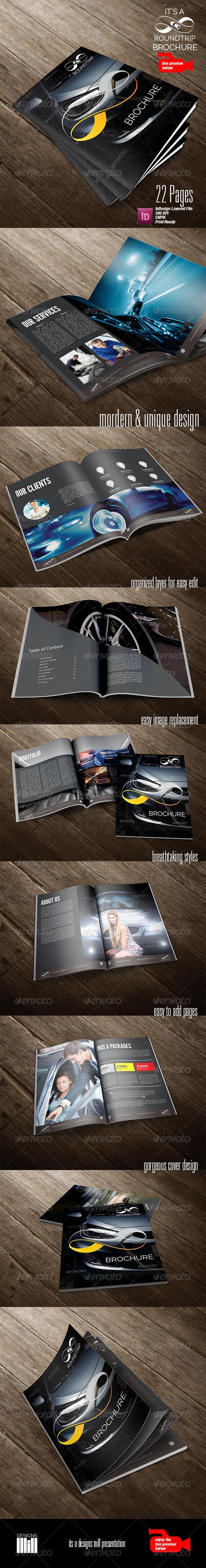 Round Trip Brochure - Corporate Brochures