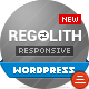 Regolith — Responsive Horizontal Portfolio Theme - ThemeForest Item for Sale