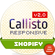 Callisto for Shopify - Premium Responsive Theme - ThemeForest Item for Sale