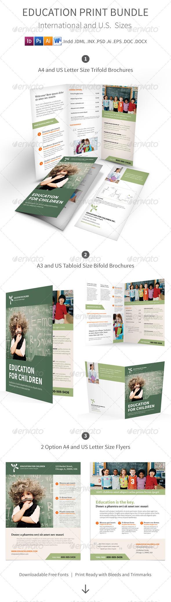 Education Print Bundle - Corporate Brochures
