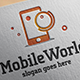 Mobile World Logo - GraphicRiver Item for Sale
