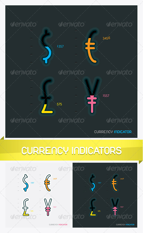 Currency Indicator Signs - Miscellaneous Conceptual