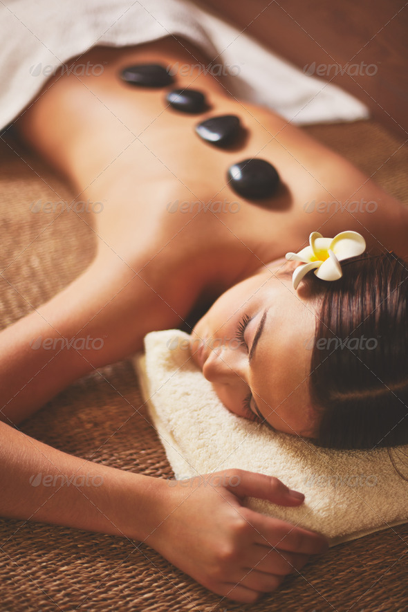Rest in spa salon - Stock Photo - Images