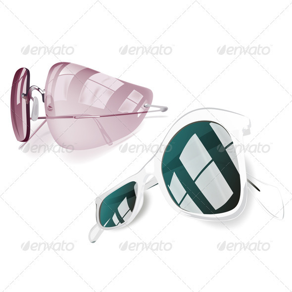 Sunglasses Set - Man-made Objects Objects