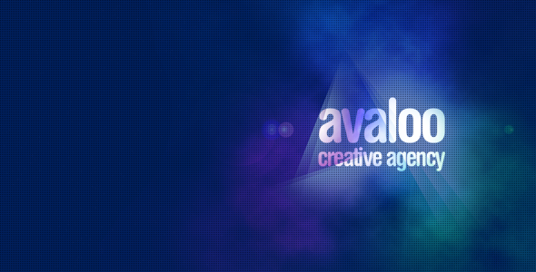 avaloo – One Page Creative Agency Template
