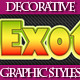 Set of Beautiful Colorful Styles for Design - GraphicRiver Item for Sale
