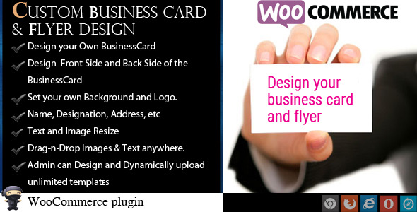 Woocommerce business card flyer design by wpproducts codecanyon woocommerce business card flyer design codecanyon item for sale fbccfo Image collections