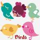 Vintage Birds - GraphicRiver Item for Sale