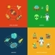 Space Icons Infographics - GraphicRiver Item for Sale