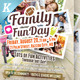 Family Fun Day Flyers - GraphicRiver Item for Sale