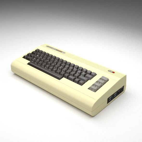 Commodore 64 - 3DOcean Item for Sale
