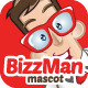 Bizzman Mascot - GraphicRiver Item for Sale