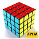 3D High Quality 4x4 Rubik's Cube Model