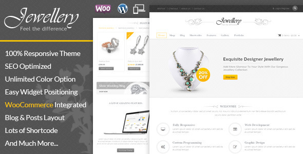Jewellery - WooCommerce Responsive Theme