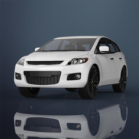 Suv car - 3DOcean Item for Sale