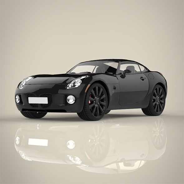 Mini Sport Car - 3DOcean Item for Sale