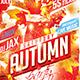 Flyer Autumn Party Konnekt - GraphicRiver Item for Sale