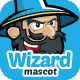 Wizard Mascot - GraphicRiver Item for Sale