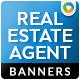 Real Estate Agents Banner Design - GraphicRiver Item for Sale