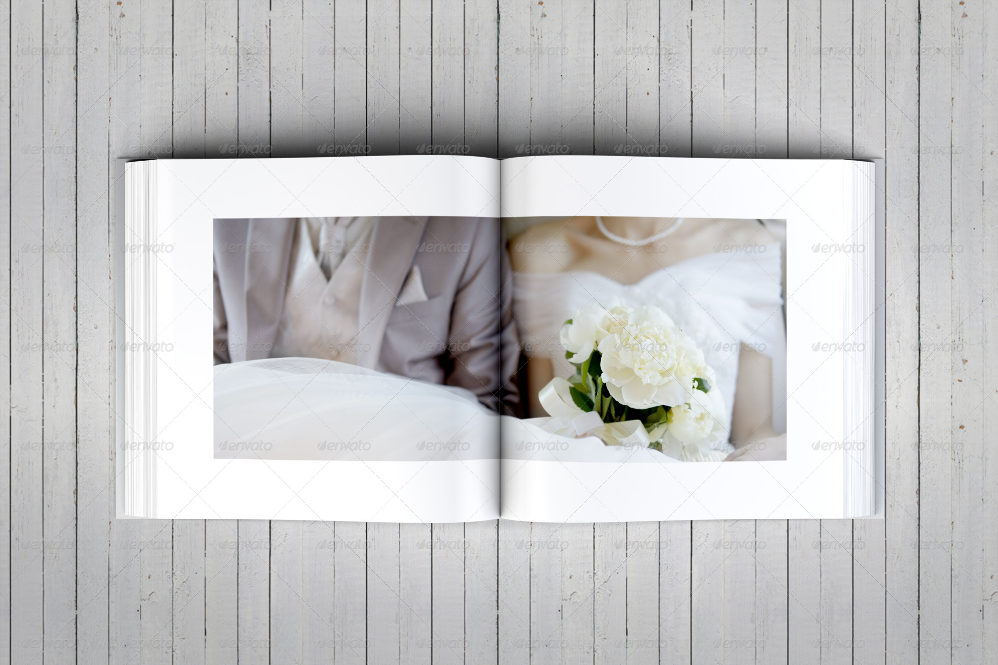 Elegant square wedding photo album template by dogmadesign preview11 wedding albumg pronofoot35fo Gallery