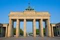 Brandenburger Tor in the early morning sun