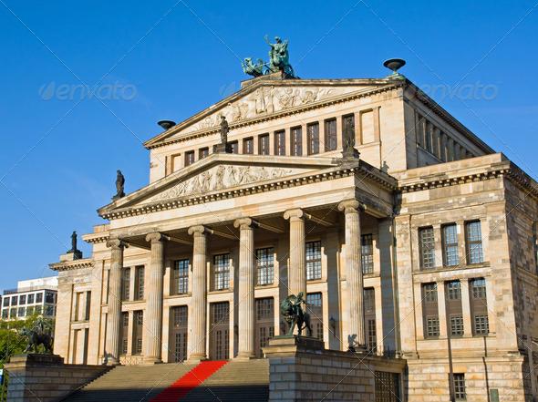 The Konzerthaus at Gendarmenmarkt - Stock Photo - Images