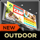 Kids Sports Fitness Billboard Template - GraphicRiver Item for Sale
