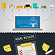 Vector Infographic for Sale of Real Estate - GraphicRiver Item for Sale