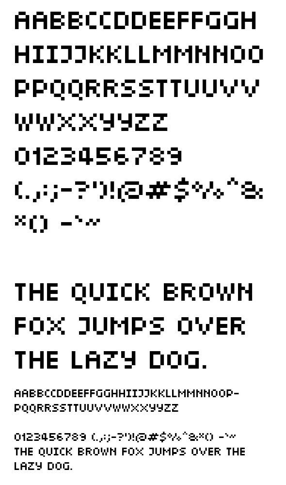 Capital Short - Sans-Serif Fonts