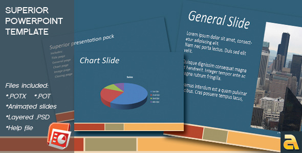 Superior Powerpoint Template - Business PowerPoint Templates