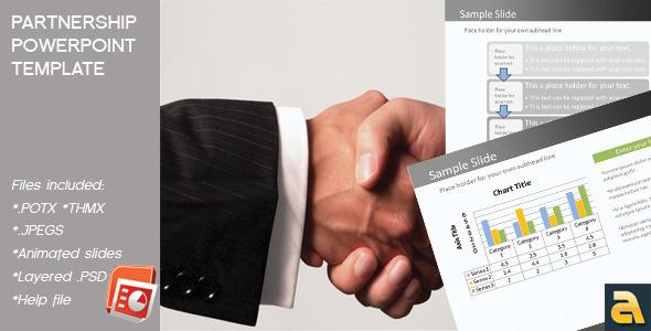 Partnership Powerpoint Template - Business PowerPoint Templates