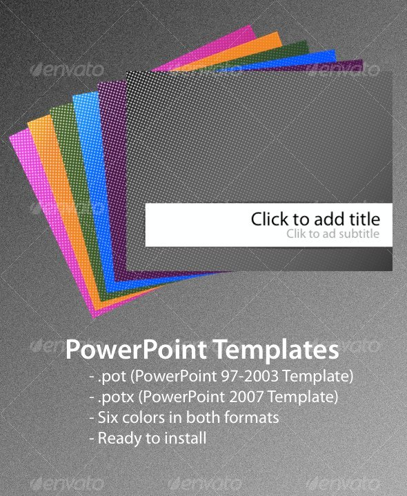 Dots powerpoint templates by leslienayibe graphicriver dots powerpoint templates toneelgroepblik