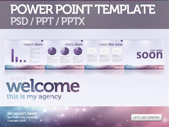 Modern Agency Presentation - PowerPoint Templates Presentation Templates