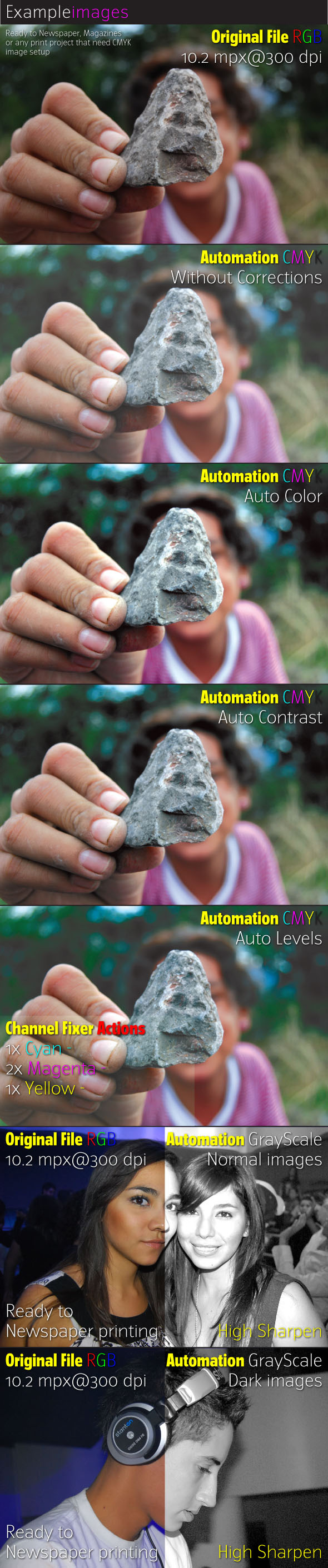 CMYK Automate - Photoshop Add-ons