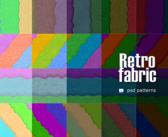 Retro Fabric - Artistic Textures / Fills / Patterns