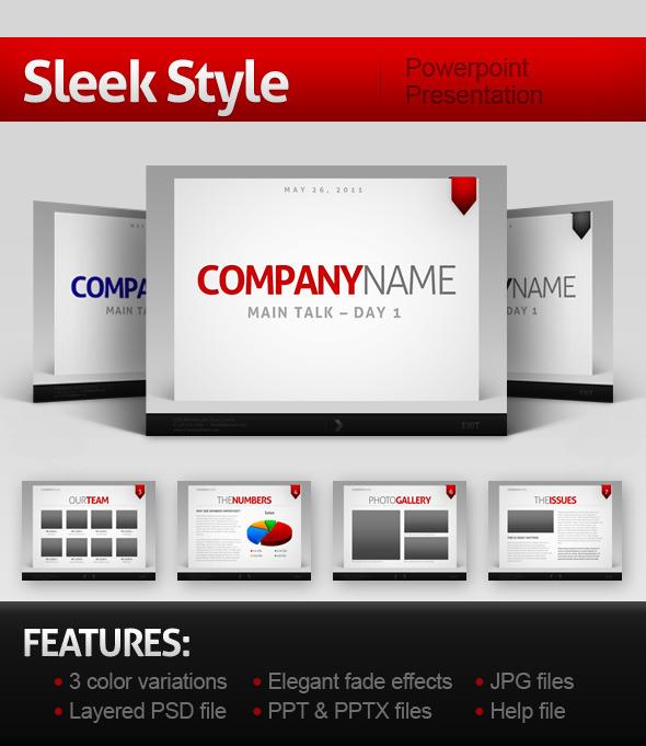 SleekStyle Presentation - PowerPoint Templates Presentation Templates