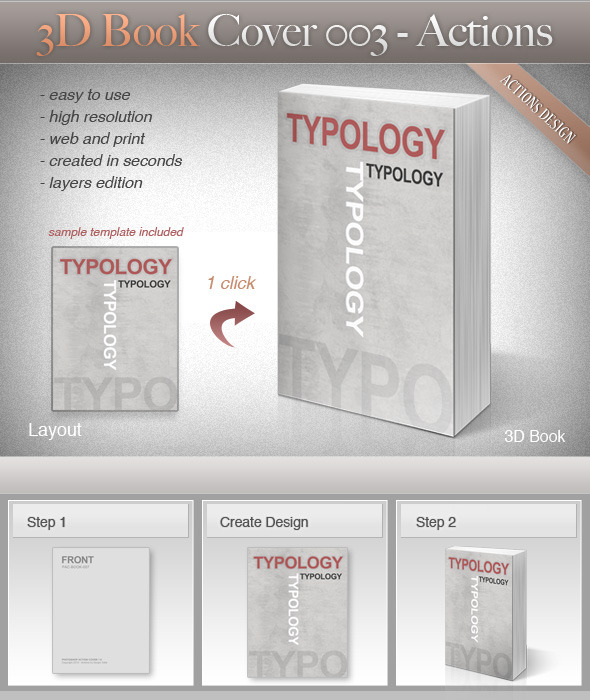 Book Cover Graphicriver : D book cover by srvalle graphicriver