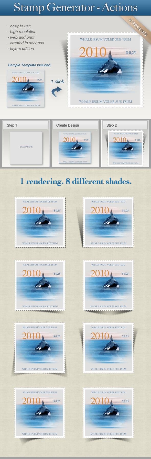 Stamp Generator - Utilities Actions