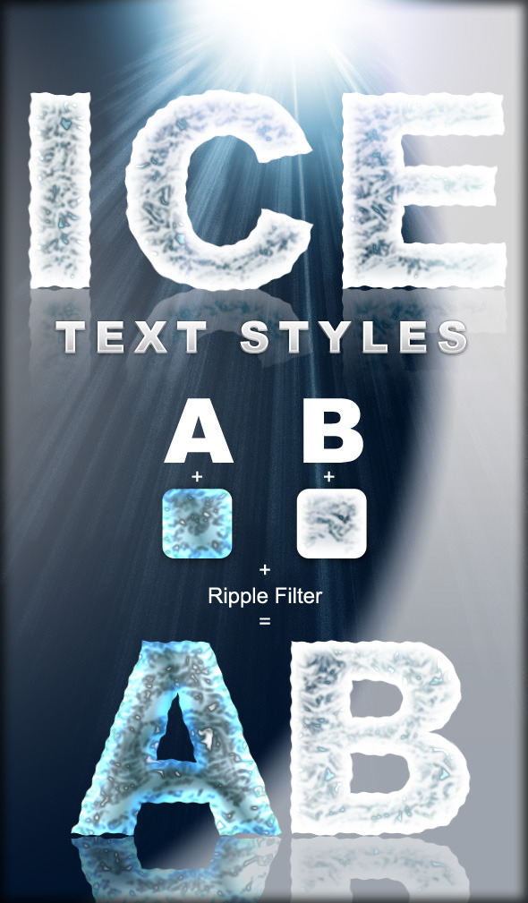 Ice Text Styles - Text Effects Styles