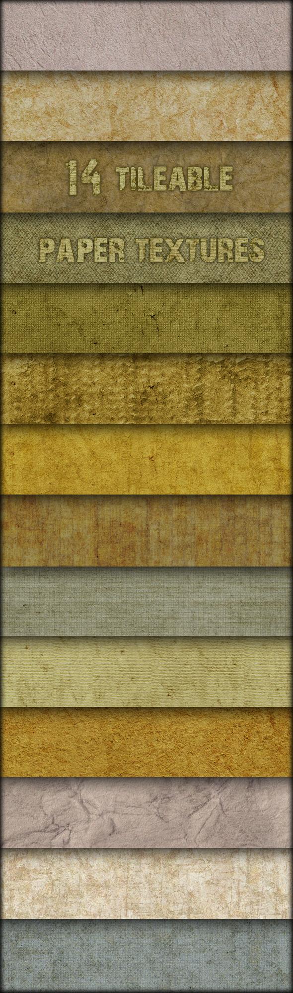 14 Tileable paper textures - Paper Textures