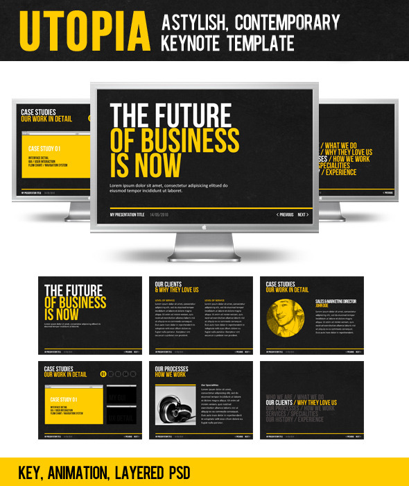 Utopia - Business Keynote Templates