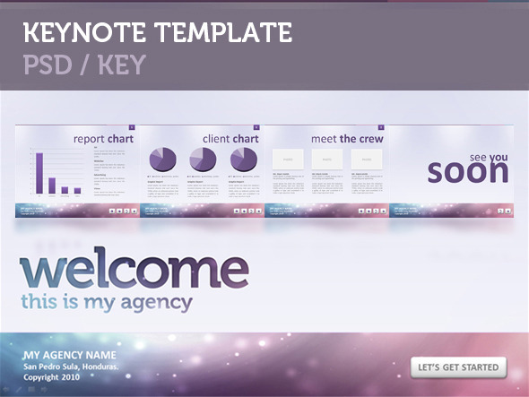 Modern Agency - Keynote Templates Presentation Templates