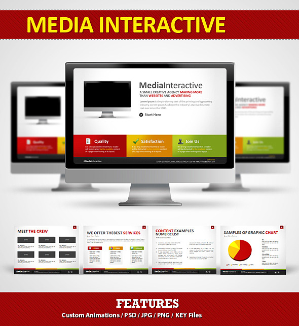 Media Interactive - Business Keynote Templates