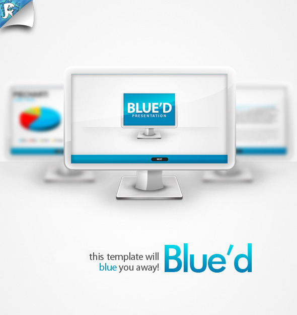 Blue'd Keynote Presentation - Business Keynote Templates