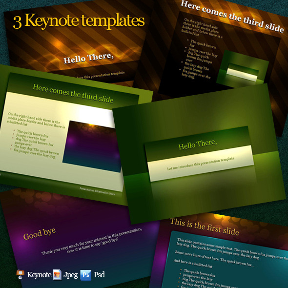 Keynotes templates pack - Keynote Templates Presentation Templates
