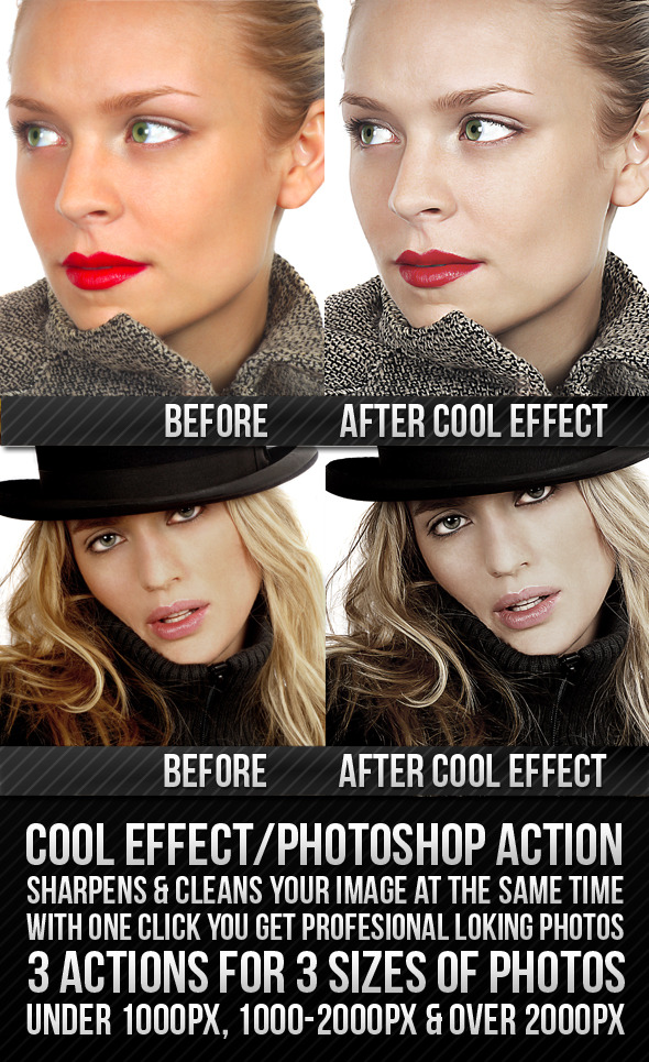 COOL EFFECT - Photo Effects Actions