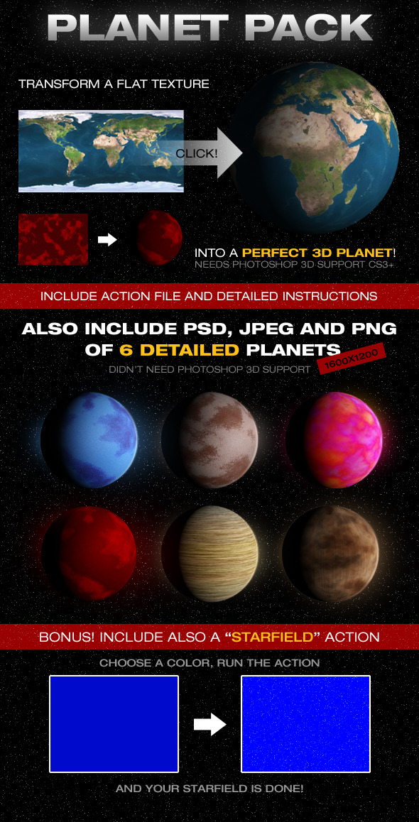 Planetize Action + Planets - Utilities Actions