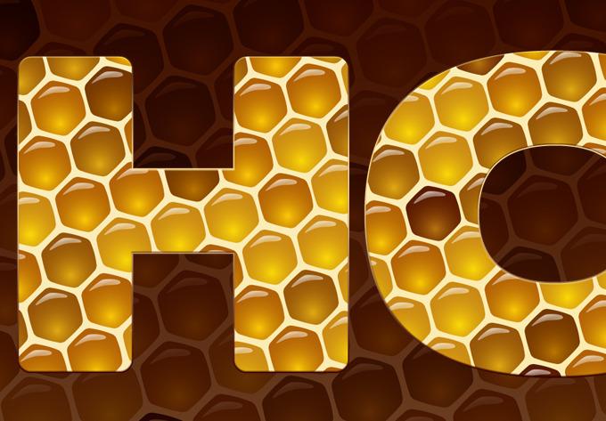 Honey Photoshop Styles
