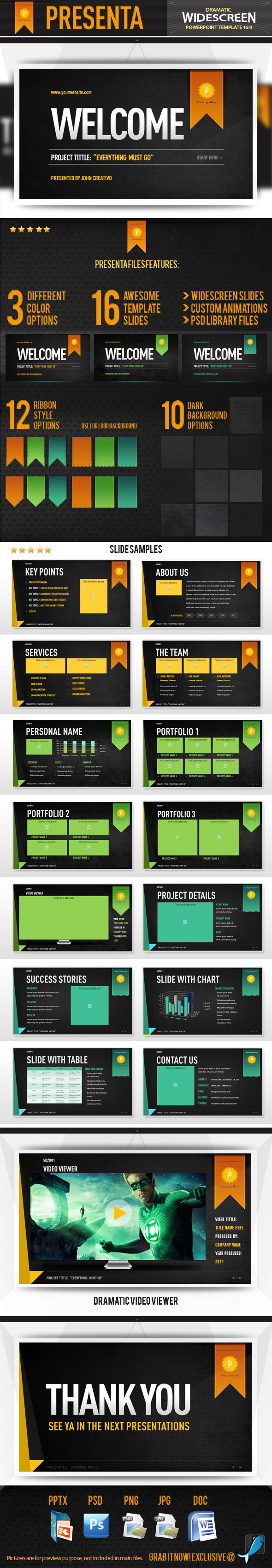 Presenta - Powerpoint Template - Creative PowerPoint Templates